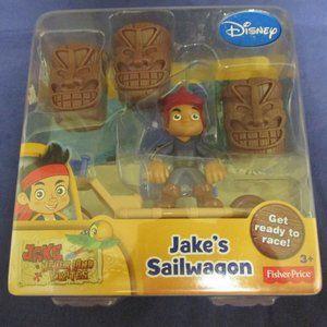 Jake Sail Wagon Jake & the Never Land Pirates NEW